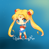 Sailor Moon Sticker by AndreaJacqLee