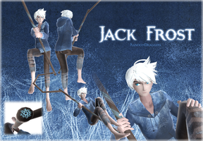 MMD Jack Frost (MOTME) +DOWNLOAD ! by RandomDraggon