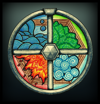 Elemental Mandala by bioraka