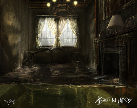 Project Scissors: NightCry - (Background) by Chris-Darril