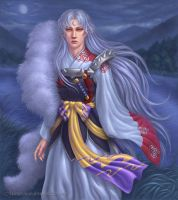 Sesshomaru by marurenai