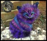 SOLD  Handmade Poseable LIFE SIZED Stardust Kitten by Wood-Splitter-Lee