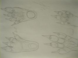 Hand foot Practice by theguynobodyknows