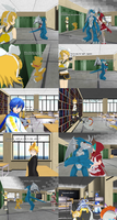 The first victims of violence at school by JackFrost-LCDA