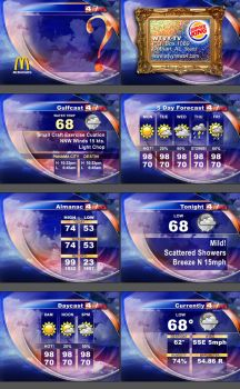 New Weather Graphics by paperbathtub