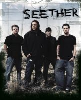 Seether Poster by AngryJedi