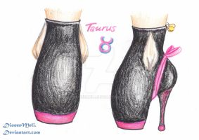 Zodiac Chic Shoes -Taurus by DioneeMeli