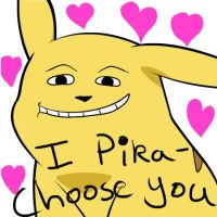 I Pika-Choose you by legoman1203