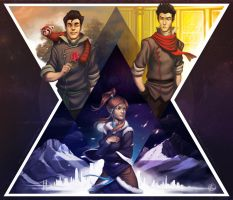 LoK: Love Triangle by silverteahouse