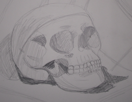 Class Exercise - Skull by fokkusu1991
