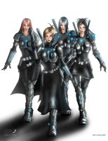 :Ultimate_Armor_Girls: by GRO-fx