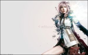 FF13 Lightning Wallpaper 2 by MaybeTomorrow07