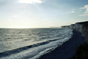 Dover's White Cliffs by MakyPospi