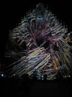 Blue spectacle 2012 in Nuremberg IV by andersvolker