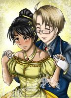 Hetalia : My Birthday Gift by spogunasya