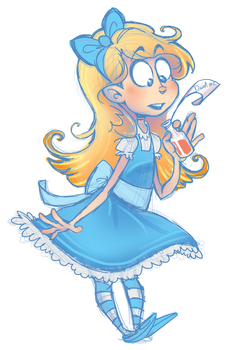 Alice decal by real-faker