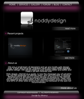 web layout no2 by Dinomann