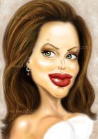Angelina Jolie by MURIELFREEMIND
