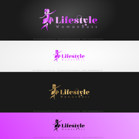 Lifestyle Woman Logo by DianaGyms