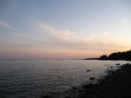 Shores of Lake Superior by michaelajunker