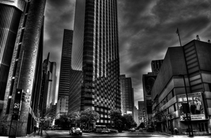 Downtown Dallas by Expositus
