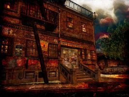 STORMY STREETS by ToysoldierThor