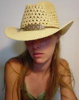 Danielle Cowgirl Hat Low Res by FantasyStock