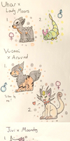 PKMNation:: Seven Clutches in One! (Closed) by Dianamond
