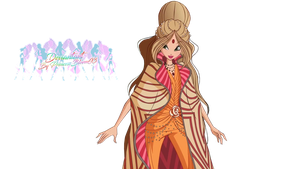 World ofWinx Flora Couture - PNGs! by PrincessBloom93