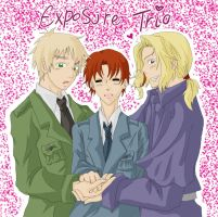APH - Exposure Trio by MasterFranny