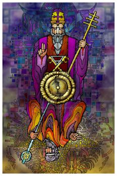 05 The Hierophant by zachlost