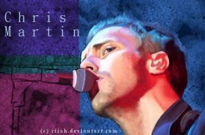 Chris Martin WIP by Riiah