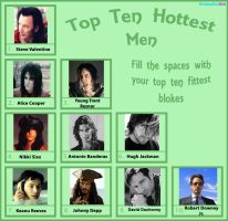 My Top Ten Hottest Guys by ColdEthyl13