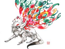 Okami by evelmiina