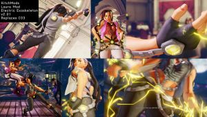 Laura Exoskeleton Mod (SFV) V2.00 Compatible by wajdyf