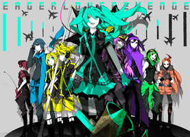 VOCALOID Print 1: Love Is War by purspecktif