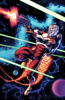 Adam Strange by J-Skipper