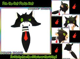 Pele the Cat Plushie Hat by AnimeNomNoms