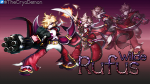 Rufus Wilde (Grand Chase) by Kolvrak