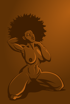 Amber and Brown 2 by sircle