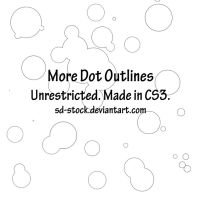 More Dot Outlines Brush by sd-stock