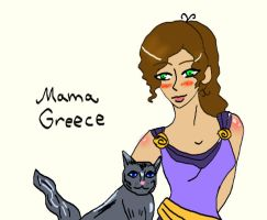 Ancient Nations- Mama Greece by RaphiellaSnape