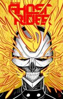 All New Ghost Rider by felipe-cunha