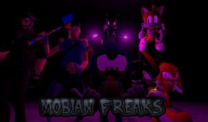 Gmod Comic Cover: Mobian Freaks by SpikeHedgelion8