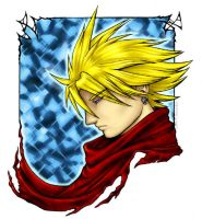 Cloud Strife - Portrait by nachtwulf
