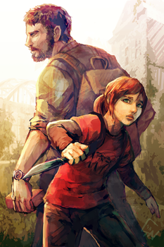 The Last of Us by c-dra