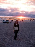 Me in Sunset Background by ausrejurke