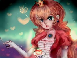 Princess Peach by keitchez