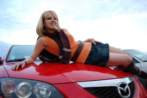 Ashley Graham: Car Model? by LadyofRohan87