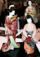 Asian Festival 3 Japanese Doll by Falln-Stock